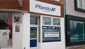 Vehicle & auto pawnshop Bielefeld